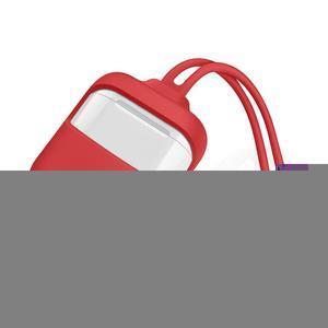 Image 1 - Silikon Sleeve Schutz Fall Anti Verloren Seil Anti Drop Kopfhörer Abdeckung Shock Proof Headsets Tragbare Mini Tasche Für airpods