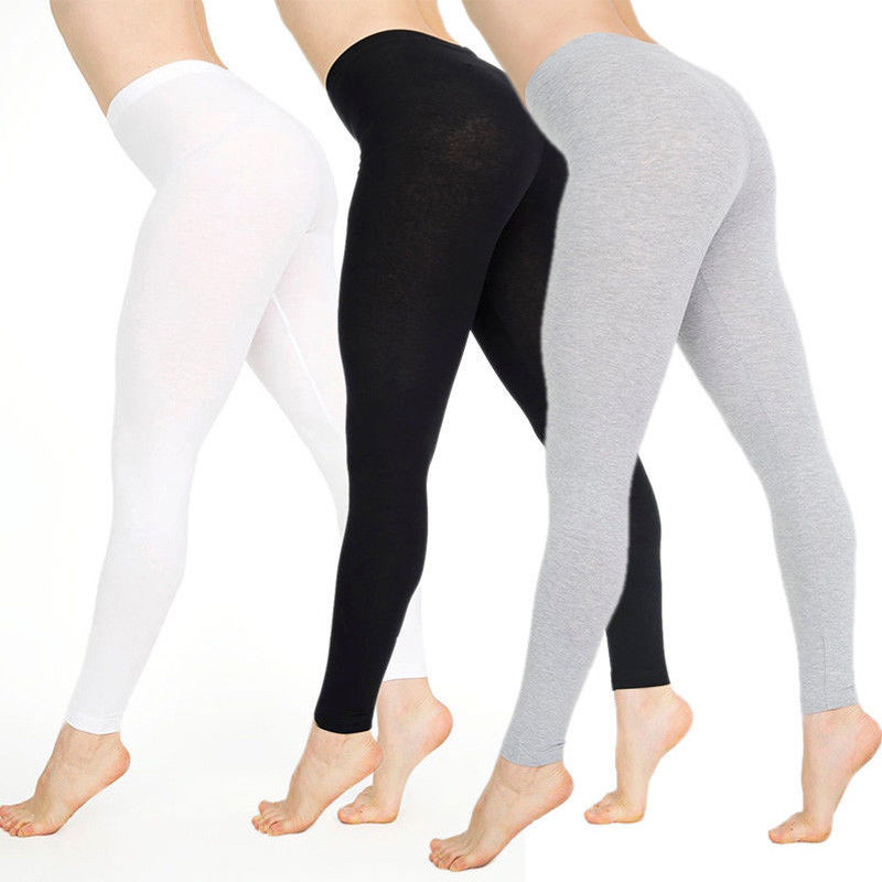 Women Shiny Black Legging Spring Summer Ladies Push Up Slim Leggings High Waist Stretchy Soft Large Size Women Outwear Leggings