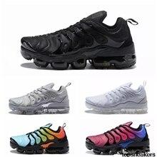 85df562bc9c New AIR VAPORMAX PLUS CARGO KHAKI TN Plus Running Shoes Classic Outdoor Run  Shoes Black White Sport Shock Sneakers Men