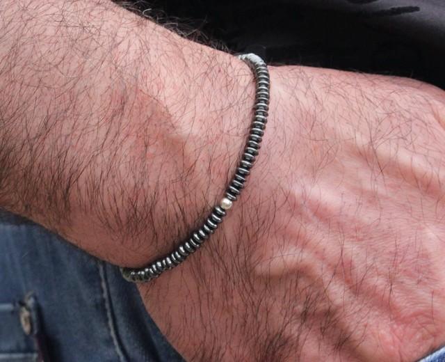 2019 New Design Men Bracelet Hematite Slim Health slimming Luxury Beaded bracelets& bangles for Women men Jewelry gift pulseira