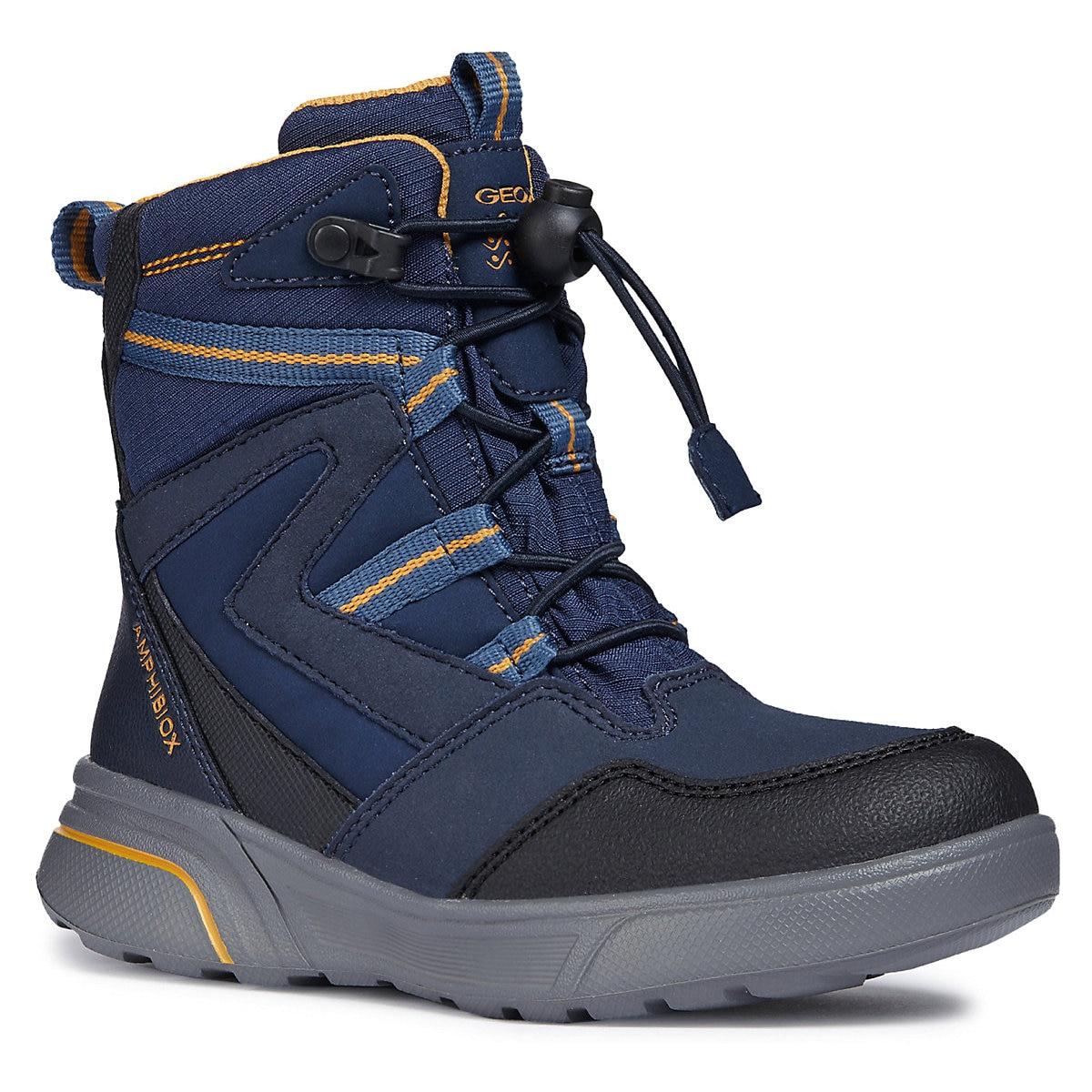 GEOX Boots 8786502 children shoes For boy Winter Boys faux fur MTpromo