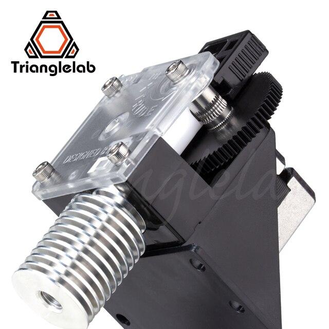 Trianglelab 3D מדפסת titan מכבש עבור שולחן העבודה FDM מדפסת reprap MK8 J-ראש אודן משלוח חינם עבור MK8 ANET אנדר 3 cr10