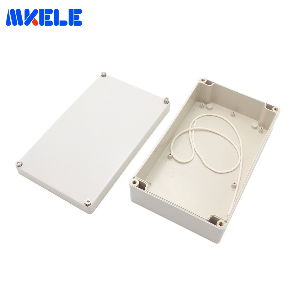 ABS Kunststoff Elektrische Junction Box DIY Outdoor-Box Wasserdichte PVC Boxen IP65 200*120*56mm Kabel Stecker scatole Elettriche
