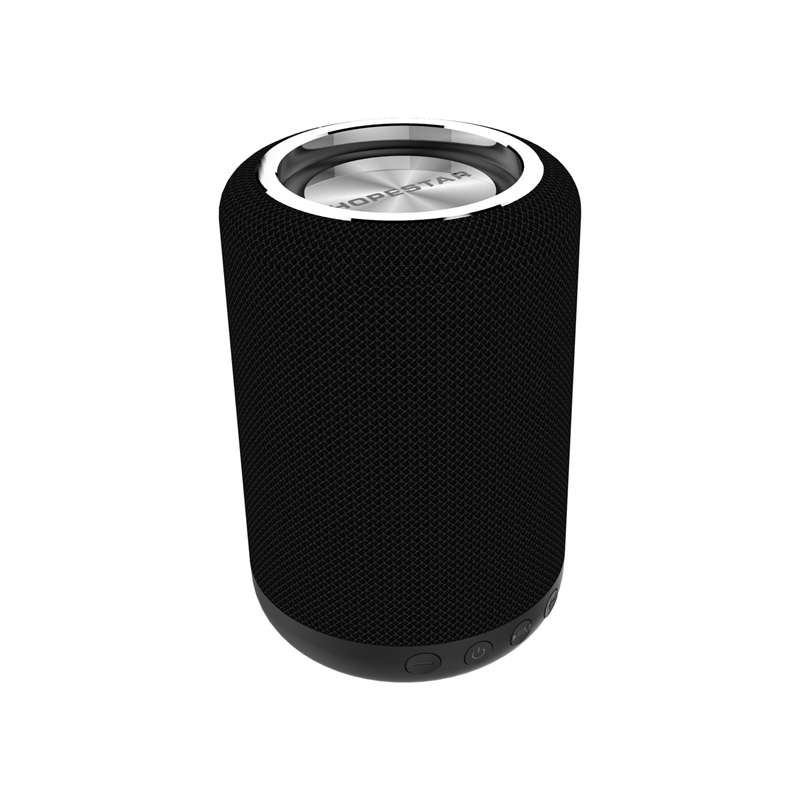 Bluetooth Speakers,Portable Speakers,Waterproof Charger Bank Led Mini Bass Speakers with Stereo Surround Sound,Travel Bass Speaker Black