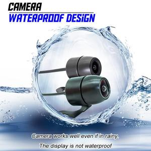 Image 5 - Universal Motorrad Kamera DVR 3,0 Zoll HD Display Motor Dash Cam Mit Spezielle Dual track Objektiv Breite Bereich Vorne hinten Recorder