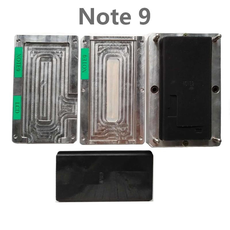Edge Mold set Glass Alignment OCA Laminating Mat without Fold Flex Rubber Pad Vacuum Laminator Mould For Samsung S9 S9plus X XS