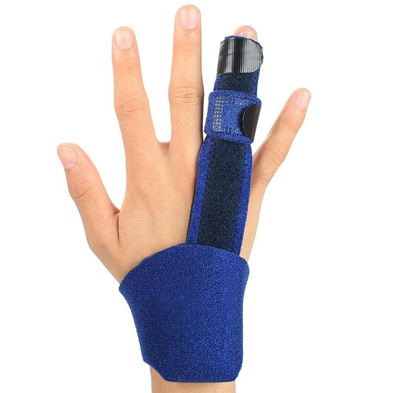 1pcs Finger Splint Trigger Adjustable Finger Guard Splint For Treat Finger Stiffness Pain Popping Clicking