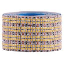 480leds/m smd 2835 led strip 24v 12v 5m 2400leds dupla fileira flexível led stripe 1200leds 900leds fita fita projeto iluminação