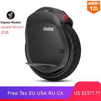 Original Ninebot One Z10 Self Balancing Wheel Scooter Electric Unicycle 1800W Motor Speed 45km/h build in Handle Hoverboard Z Z6