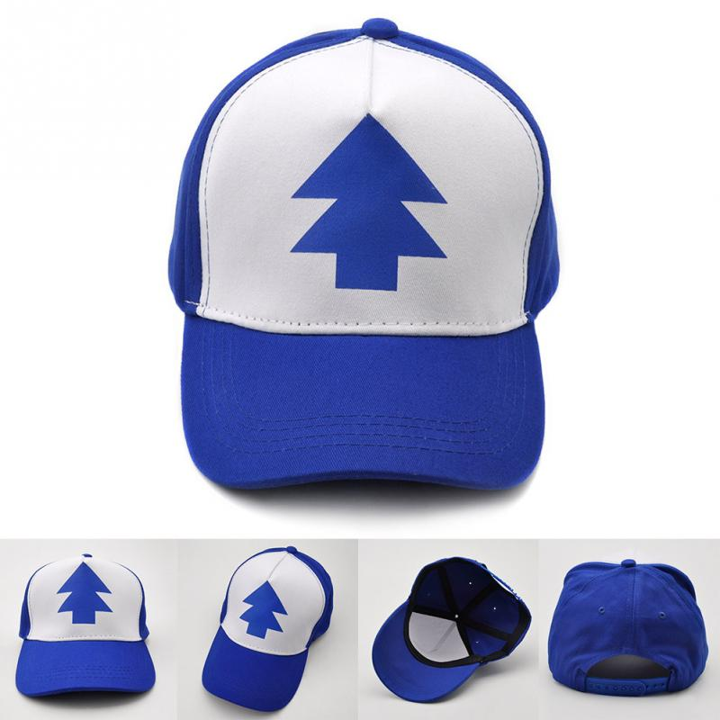 Gravity Falls   cap   Adjustable Trucker Hat Cartoon Trucker   Caps   New Curved Bill Dipper Parent-child   Baseball   Hat