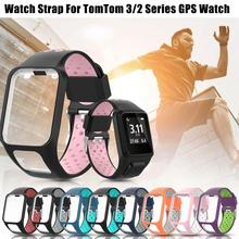 Silicone Replacement Watchband Wrist Band Strap For TomTom 2 3 Runner 2 3 Spark 3 GPS Watch Strap Soft And Comfortable To Wear