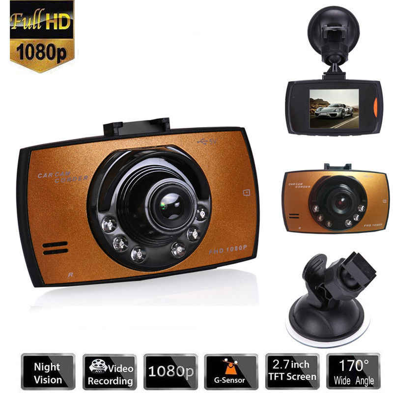 2.7 ''Full HD 1080P Painel Do Carro DVR Video Camera Recorder Traço Cam G-sensor