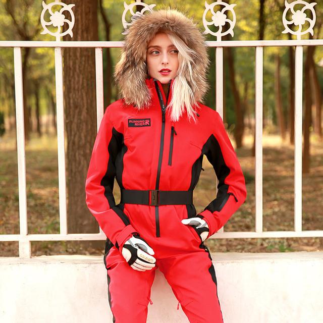 RUNNING RIVER Brand Waterproof Jacket For women ski Suit women skiing Snowboard Jacket Female Snowboarding Set Clothing #N9470