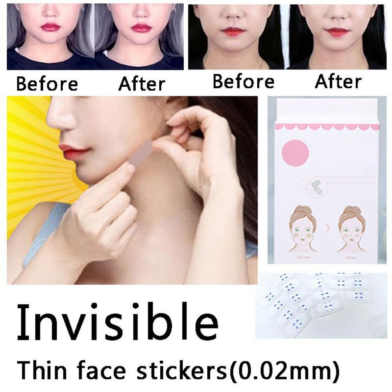 40 Pcs/Set Invisible Thin Face Stickers Face Facial Line Wrinkle Sagging Skin V-Shape Face Lift Up Fast Chin Adhesive Tape 440 Pcs/Set Invisible Thin Face Stickers Face Facial Line Wrinkle Sagging Skin V-Shape Face Lift Up Fast Chin Adhesive Tape 4
