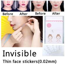 40 Pcs/Set Invisible Thin Face Stickers Face Facial Line Wrinkle Sagging Skin V-Shape Face Lift Up Fast Chin Adhesive Tape 4(China)