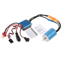 2435 4500KV 22A Sensorless Brushless Motor and 25A Brushless ESC for 1/18 1/16 RC Car Parts Accessories