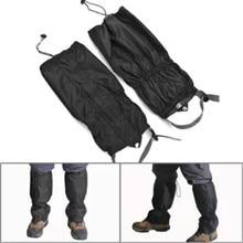 Водонепроницаемые леггинсы гетры походные горные ползунки уличные ботинки Защита ног лыжные защитные снежные лыжные походные ботинки чехол для снежной обуви