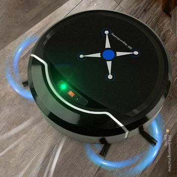 Автоматическая подметальная машина робот-пылесос USB Перезаряжаемый пылеуловитель пол подметальный робот-пылесос