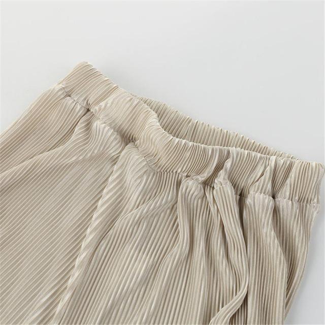 Pantalones Wide