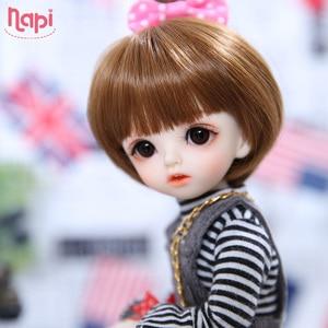Image 3 - Napi Open eyed Karou BJD SD Doll 1/6 YoSD Body Model Baby Girls Boys Resin Toy High Quality Fashion Shop Luodoll Fixed teeth