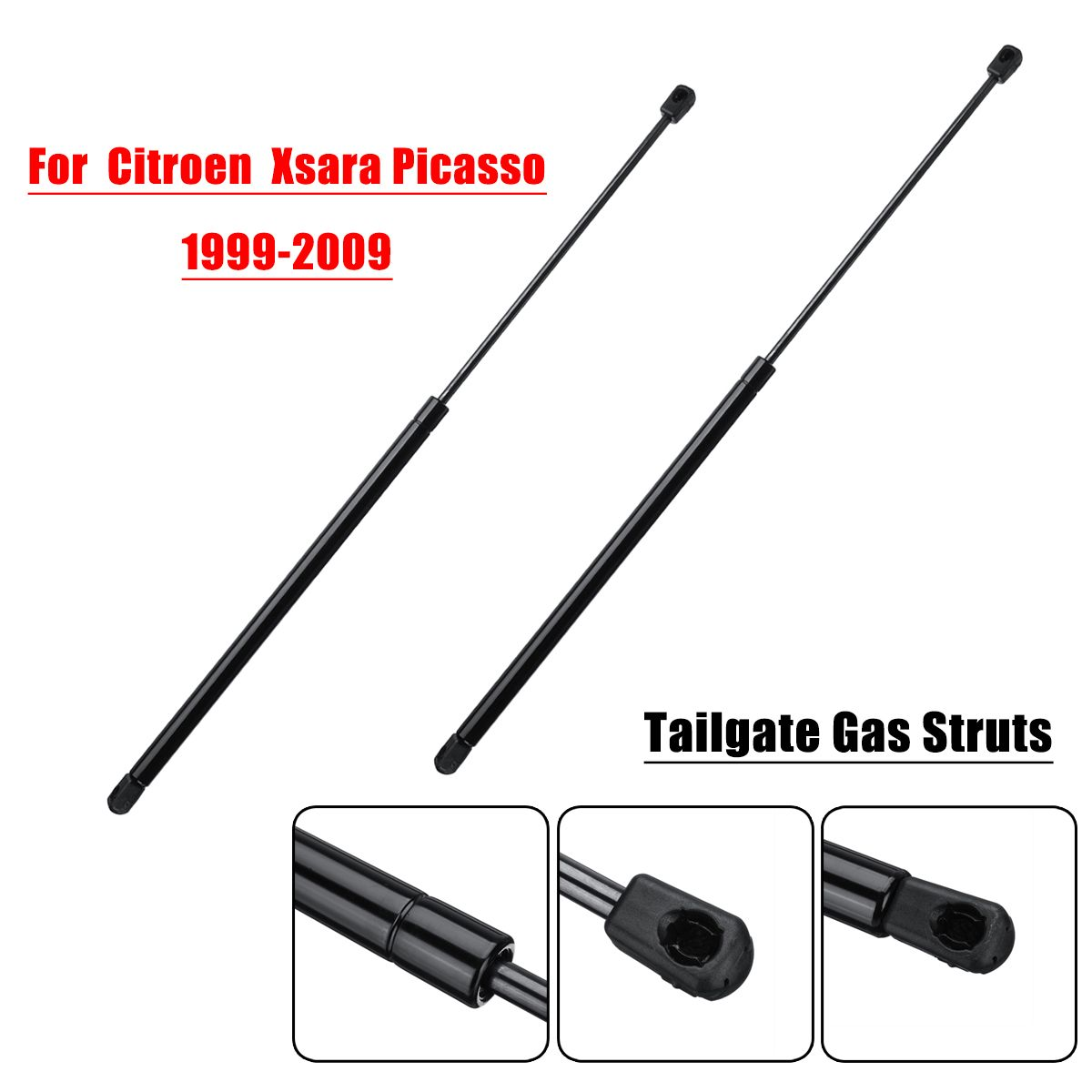 2Pcs Car Rear Tailgate Lift Supports Gas Struts For
