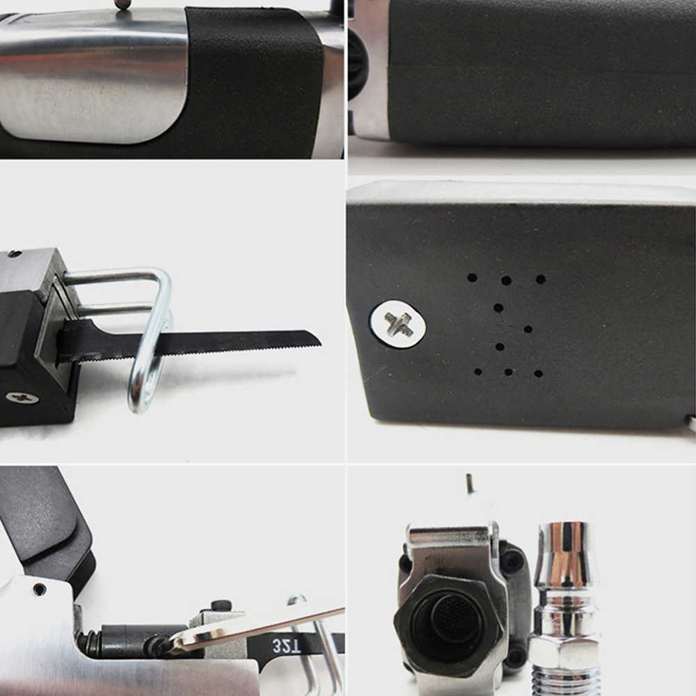 المدمجة المحمولة الألومنيوم مقشر سبائك الهوائية الترددية المنشار آلة قطع الهوائية