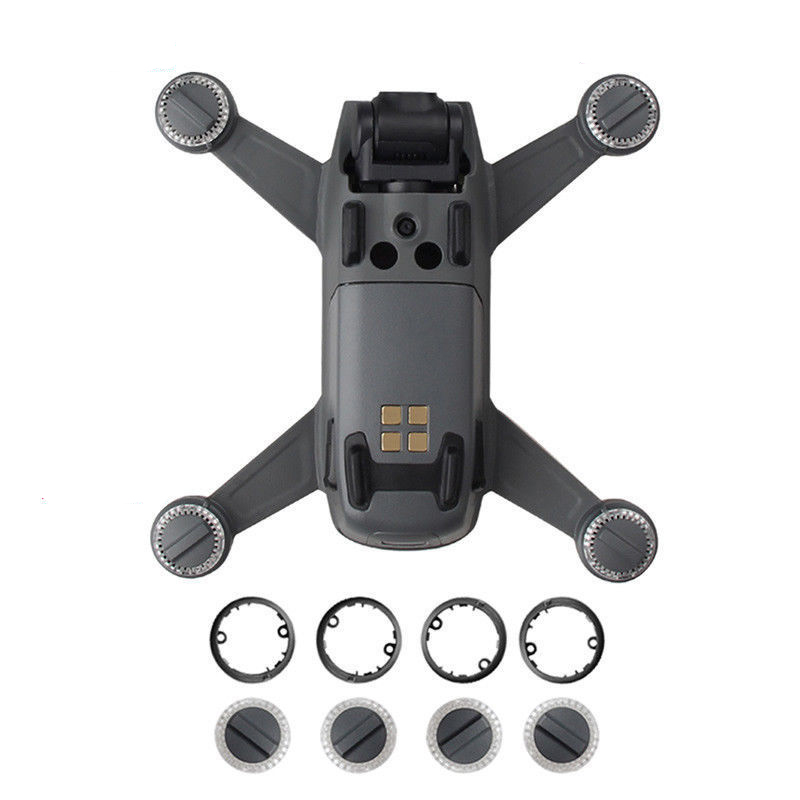 Genuine DJI Spark Part - LED Shade Lights Lamp Cover & Lamp Cover Plate/Base for Spark Lamp Protection Component Replacement(China)