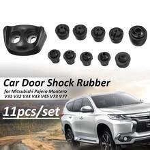 Автомобильный Дверной бампер, мужские амортизаторы, буферная накладка, анти шок, стоп-сигнал, резина для Mitsubishi Pajero Montero V31 V32 V33 V43 V45 V73 V70