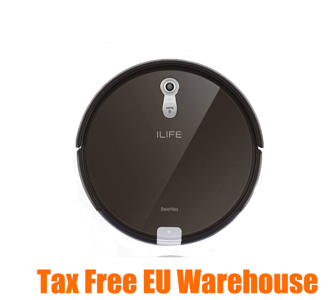 ILIFE A8 Smart Robot Vacuum Cleaner 2 in 1 for Home Dry Wet Water Tank brushless