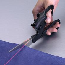 Ножницы для ткани с лазерным управлением триммер для шитья прямой Быстрый бумажный крафт для домашнего ремесла упаковка Подарки Ткань для шитья