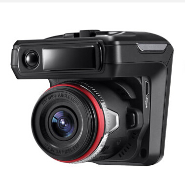 3 In1 Auto Dvr Camera 2.4 Radar Detector X7 Russische Versie Volledige Band X Ku K Ka plus laser 150 Graden Lens Gps Tracker Logger - 3