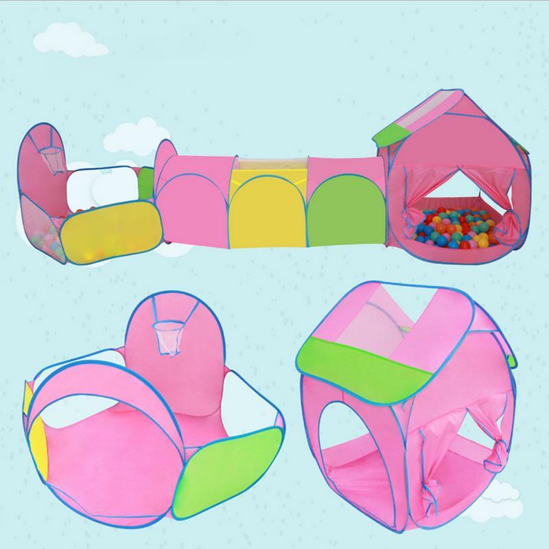 Bébé extérieur plage balles fosse piscine tente jouer maison tipi rêve princesse Tunnel tentes intérieur jouet jeu Cubby maison pour enfants