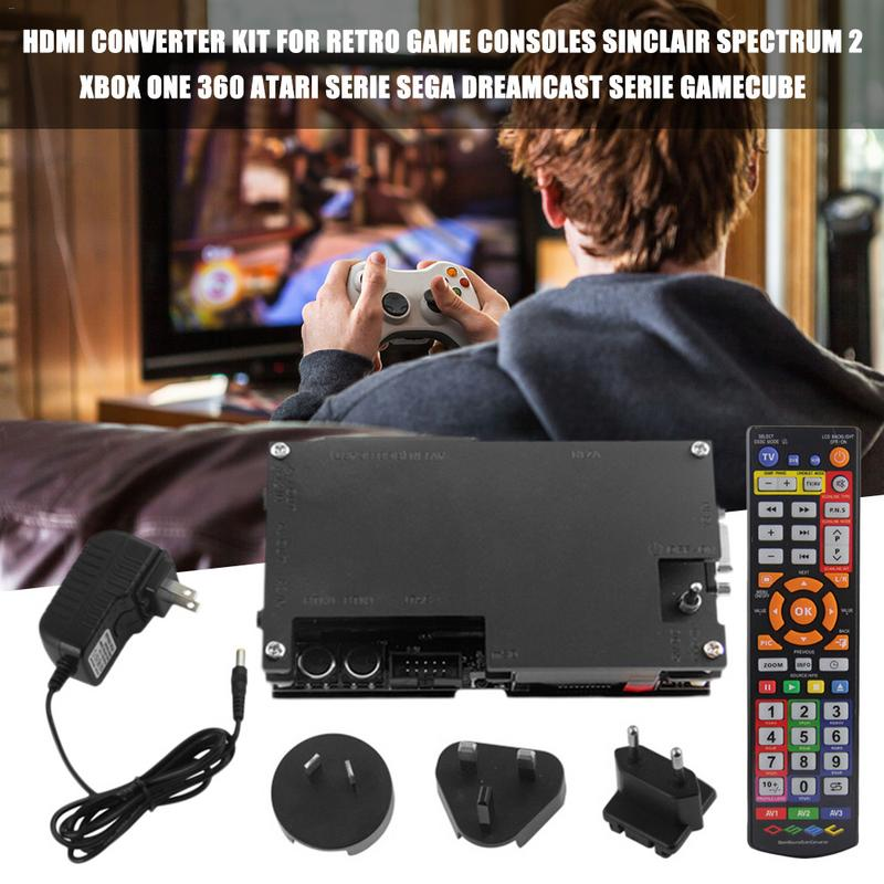 OSSC HDMI Video Converter Kit For Retro Game Consoles PS2 Sinclair Spectrum 2 Xbox One 360 Atari Serie Sega Dreamcast Adapter
