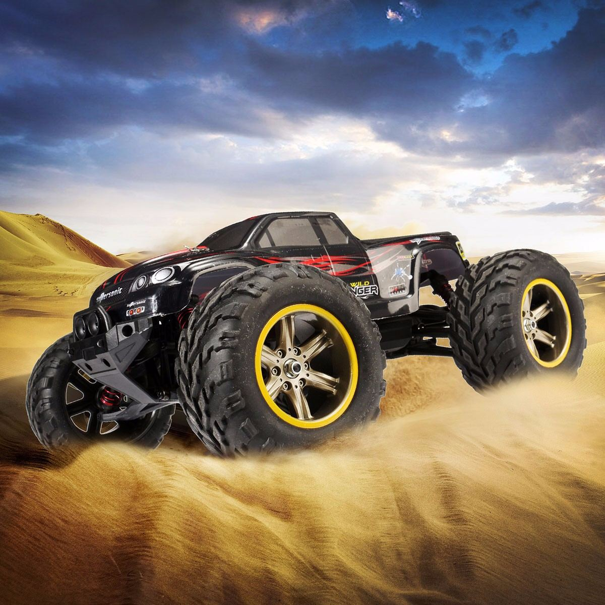Cimbing Car RC Car Impermeable S911 RC SUV Coche 1/12 2.4GHz 2WD 6CH Alta Velocidad Control Remoto For Boys Kids TransmitterCimbing Car RC Car Impermeable S911 RC SUV Coche 1/12 2.4GHz 2WD 6CH Alta Velocidad Control Remoto For Boys Kids Transmitter