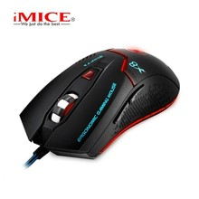 iMICE Wired Gaming mouse 6 Buttons Computer Mouse Gamer Optical Profes