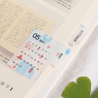 2 Sheet Date Index Stickers Colorful Fruits Adhesive Paper Label Stickers Scrapbooking Diary Diy Albums Decor School Supplies