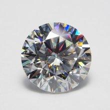 7 мм def круглый белый камень муассант свободный moissanite