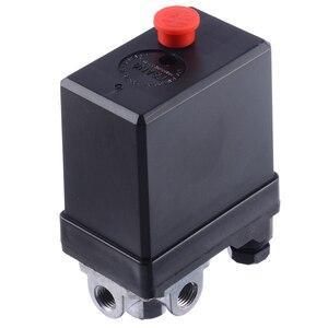 Image 4 - Mayitr 3 phase الثقيلة ضاغط الهواء مفتاح ضغط صمام التحكم مفتاح ضغط مكبس جزء 380/400 فولت