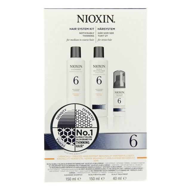Набор NIOXIN 3х-ступенчатая система System 6