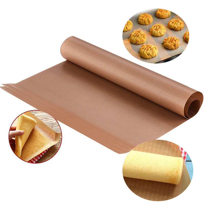 Baking Mat High Temperature Resistant  Sheet Pastry Baking Oilpaper Heat-resistant Pad Non-stick For Outdoor BBQ 60*40 cm