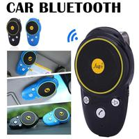 Car Handsfree Bluetooth Carkit Wireless Auto Speakerphone for Sun Visor Speaker Car Phone Hands Free Adapter Bluetooth in Cars