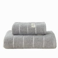 New Products High Quality 100% Cotton Bath Towel Set 34x75cm / 70x140cm Bathroom Egyptian Cotton Bath Towel Set