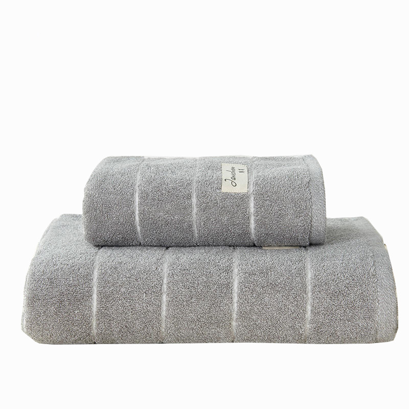 Nouveaux produits de haute qualité 100% coton serviette de bain ensemble 34x75 cm/70x140 cm salle de bain coton égyptien serviette de bain ensemble