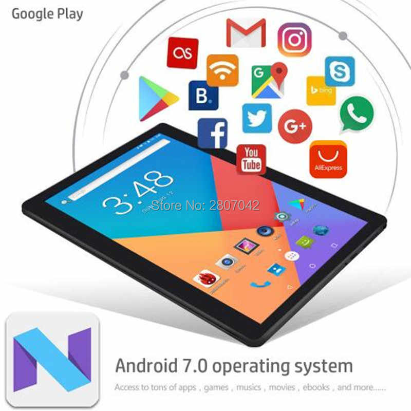 10 inch 3G 4G FDD LTE tablet PC Android 8.0 4GB RAM 64GB 1280x800 IPS 2.5D Glass phone tablet 10.1 GPS Dual SIM Card Wifi Pad