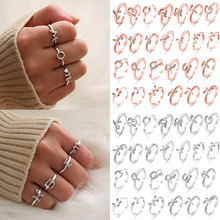 Friendship Promise Ring Gift Jewelry Best Girl Rings Letters 26 Women Hot Friend(China)