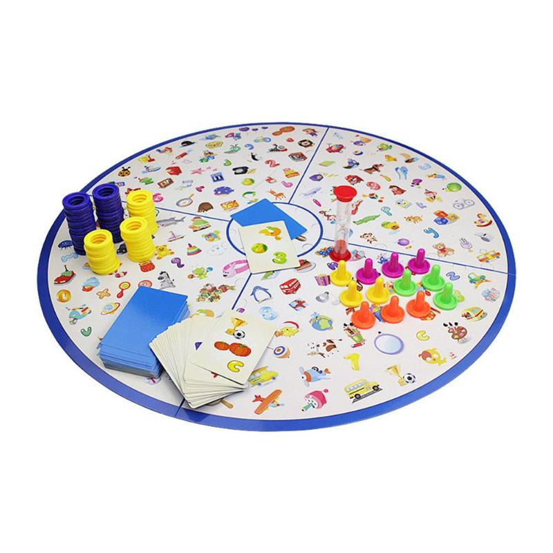 Detectives Looking Chart Board Game Plastic Puzzle Brain Training Game Kit Montessori Educational Toys For Children Gift