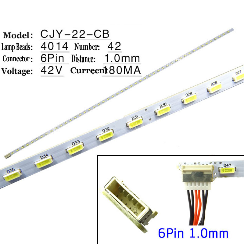 Free Shipping!! 1PC New Original LED Backlight Strip For 22inch 298MM LCD Monitor