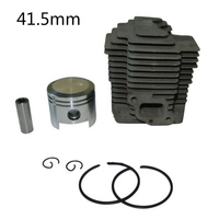 41.5mm Cylinder w/ Piston Pin Ring Kit For Mower KAWASAKI TH43 KBH43A 110052122 Chainsaw Replacement Spare Engine Parts Repair