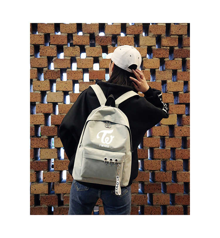 e6121aed8a Detail Feedback Questions about KPOP BTS Bangtan Blackpink Exo Backpack Bag  Got7 Twice Monsta X Wanna One Backpack Schoolbag Backpacks For Gifts Sac A  Dos ...
