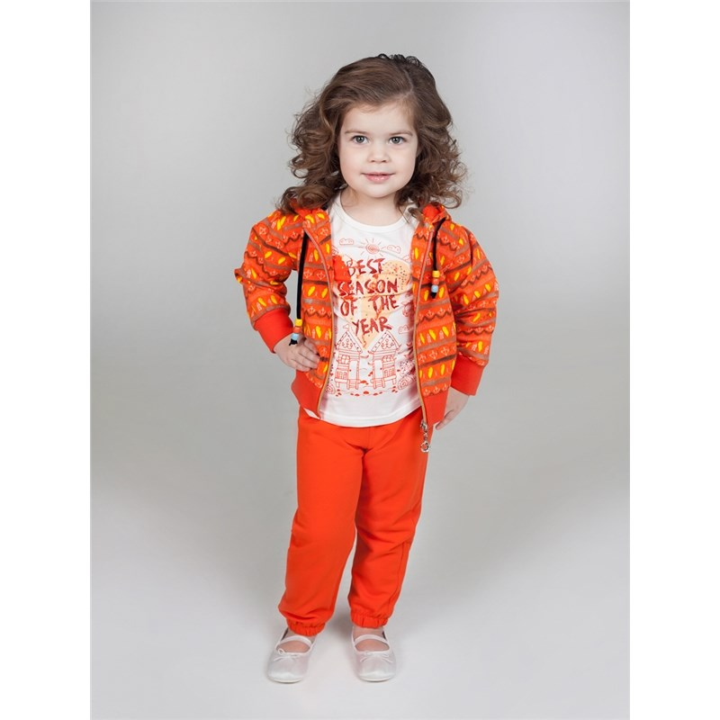 Children's Sets Sweet Berry Set of knitted for girls: sweatshirt, trousers children clothing girls clothing sets sports suits for girls clothing children sports wear spring autumn kids tracksuits